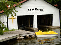 The Last Resort Bobcaygeon logo